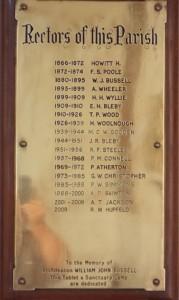 Rectors of Strathalbyn