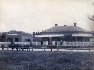 """Boundary Place"", North Parade, Strathalbyn, 1873"