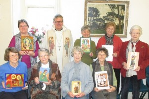 Icon Writers with Fr Adrian Stephens