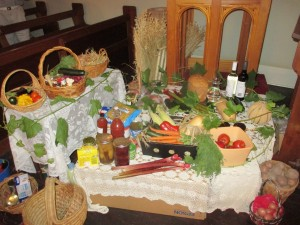 Our Harvest Gifts