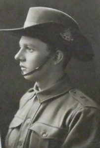Sergeant L. M. Paternoster